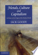 Metals  Culture and Capitalism Book