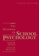 The Handbook of School Psychology