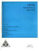 Pdf IETE Technical Review