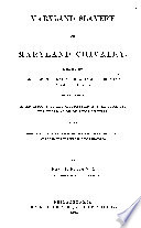 Maryland Slavery And Maryland Chivalry