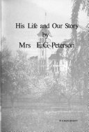 Remembering E  G  Peterson  His Life and Our Story
