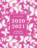 At a Glance 2020 2021 Weekly Planner