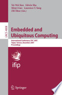 Embedded And Ubiquitous Computing Book PDF