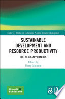 Sustainable Development and Resource Productivity Book