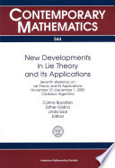 New Developments in Lie Theory and Its Applications