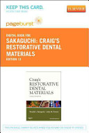 Craig s Restorative Dental Materials   Pageburst E Book on Vitalsource  Retail Access Card