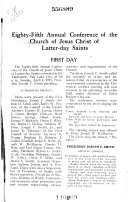 Annual Conference of the Church of Jesus Christ of Latter day Saints