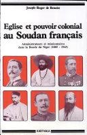 Pdf Église et pouvoir colonial au Soudan français Telecharger
