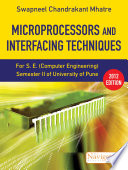 Microprocessors and Interfacing Techniques