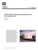 Chilled Water Storage Cooling System at Fort Jackson, SC