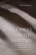 Leaders in the Shadows Pdf/ePub eBook