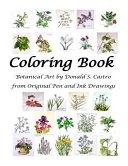 Pdf Botanical Art Coloring Book