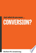 Just What Do You Mean    Conversion