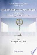 Superconducting Materials Book