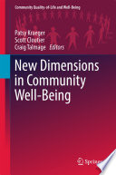 New Dimensions in Community Well Being Book
