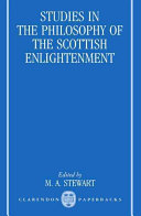 Studies in the Philosophy of the Scottish Enlightenment