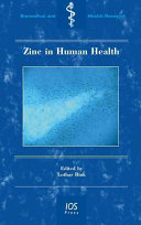 Zinc in Human Health