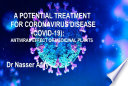 A POTENTIAL TREATMENT FOR CORONAVIRUS DISEASE  COVID 19