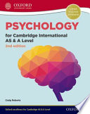 Psychology for Cambridge International as and a Level Student Book