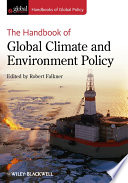 Book Cover: The Handbook of Global Climate and Environment Policy