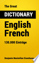 The Great Dictionary English   French