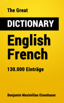 Pdf The Great Dictionary English - French Telecharger