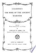 Coleridge s The Rime of the Ancient Mariner