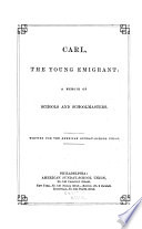 Carl, the Young Emigrant