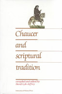 Chaucer and Scriptural Tradition