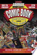 Comic Book Checklist and Price Guide