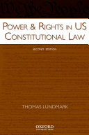 Power   Rights in US Constitutional Law