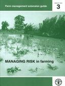 Managing Risk in Farming