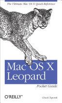 Mac OS X Leopard Pocket Guide