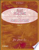 Name Reactions for Homologation