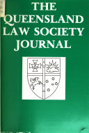 The Queensland Law Society Journal
