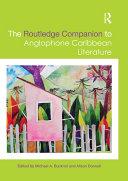 The Routledge Companion to Anglophone Caribbean Literature Pdf/ePub eBook