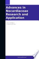 Advances In Nocardiaceae Research And Application 2012 Edition Book PDF