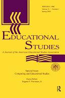 Computing and Educational Studies