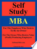 Self Study MBA