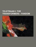 Teletraan I: The Transformers - Fandom