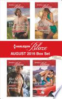 Harlequin Blaze August 2016 Box Set
