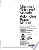Mitsubishi pick-ups & Montero automotive repair manual