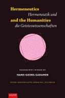 Hermeneutics and the Humanities