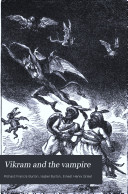 Vikram and the Vampire, Or, Tales of Hindu Devilry
