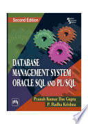 DATABASE MANAGEMENT SYSTEM ORACLE SQL AND PL/SQL
