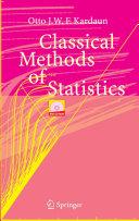 Classical Methods of Statistics