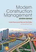 Modern Construction Management