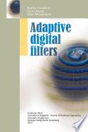 Adaptive Digital Filters Book PDF