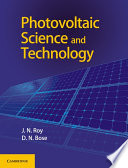 Photovoltaic Science and Technology