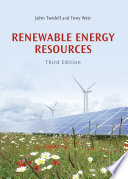 Renewable Energy Resources Book